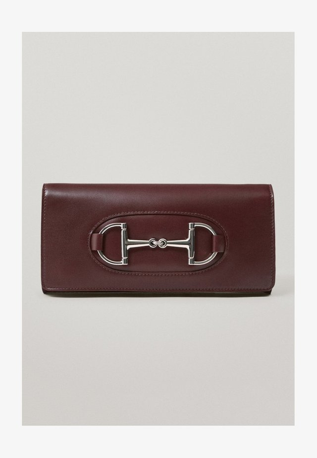 MIT TRENSE - Clutch - bordeaux