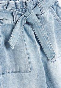 Next - PAPERBAG  - Straight leg jeans - light-blue denim - 4