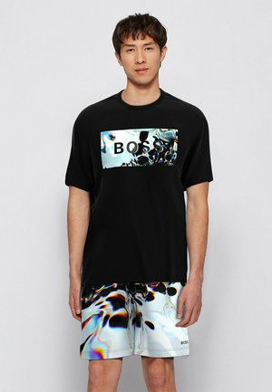 TDIGITAL - T-shirt imprimé - black