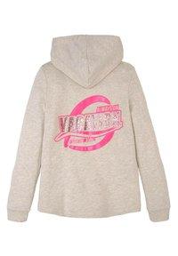 TOM TAILOR - Zip-up hoodie - kids offwhite melange - 1