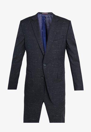 SLIM FIT SUIT - Kostym - blue