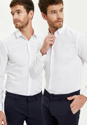 PACK OF 2 - Chemise classique - white