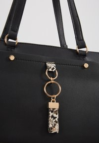 Dorothy Perkins - POCKET FRONT SHOPPER - Handbag - black/stone