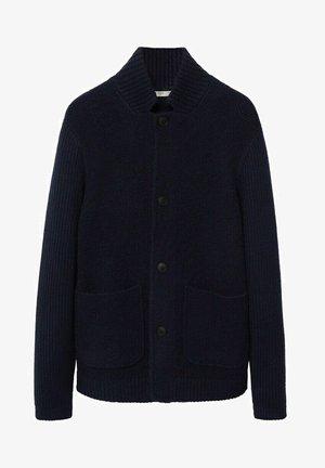 WOLLY - Cardigan - marineblau