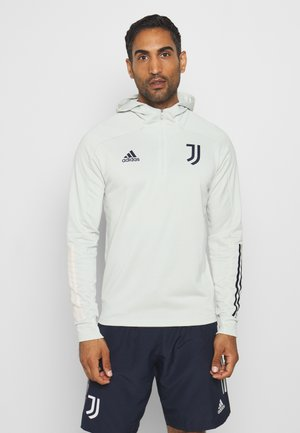 JUVENTUS SPORTS FOOTBALL HOODED  - Article de supporter - grey/blue