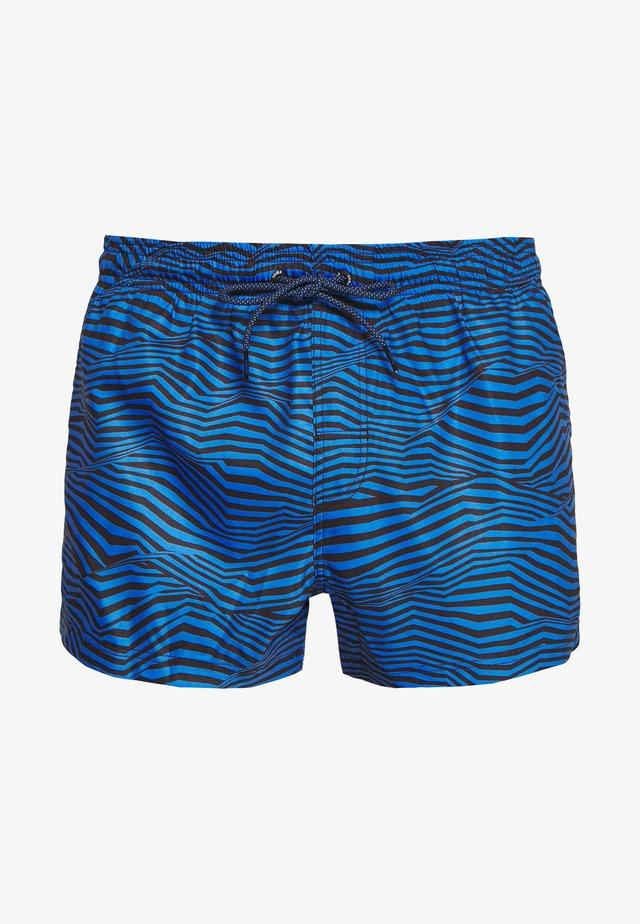 SWIM MEN LENGTH - Shorts da mare - blue