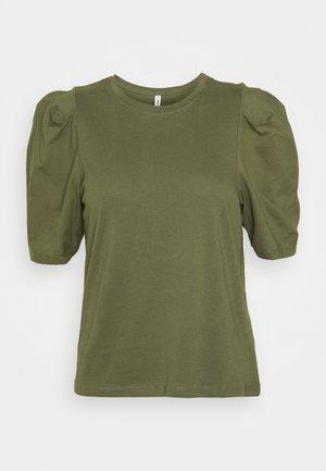 ONLRASHA LIFE PUFF MIX - Basic T-shirt - kalamata