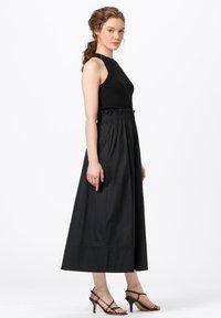HALLHUBER - ROCK - Pleated skirt - schwarz - 1
