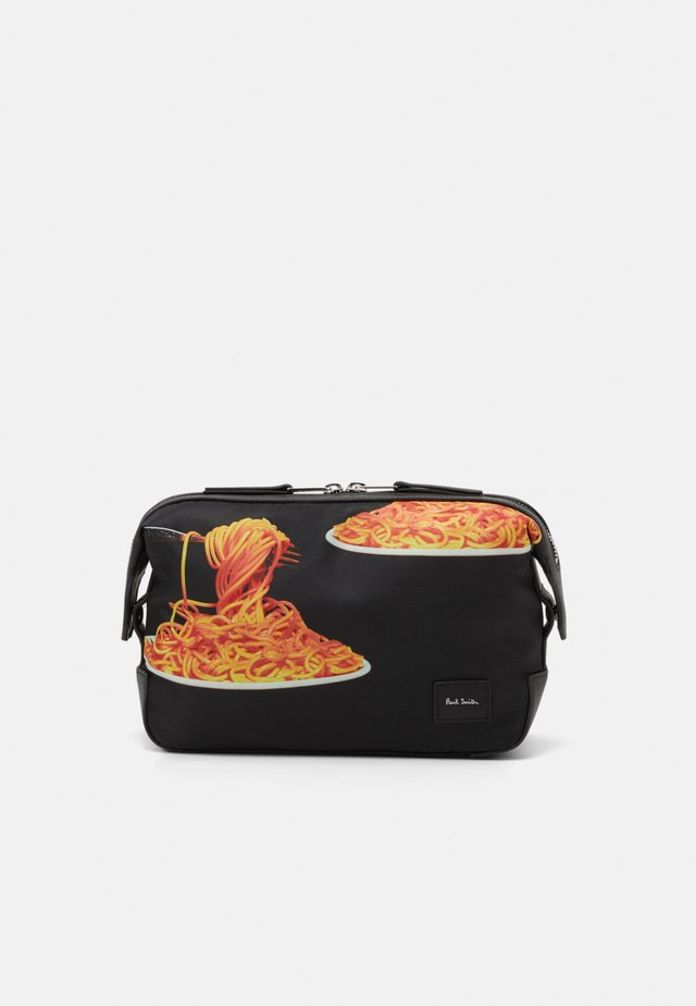 WASHBAG SPAGHETTI - Wash bag - black