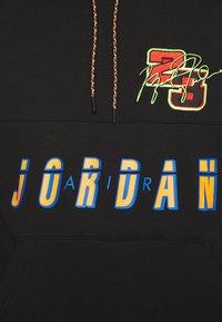 Jordan - HOODIE - Sweatshirt - black/cyber - 5