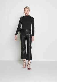 Missguided - SKI BODY SUIT - Long sleeved top - black - 1