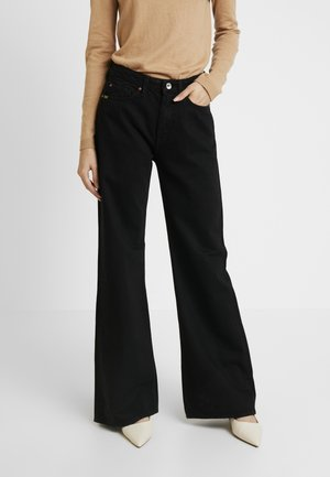 AYA - Straight leg jeans - black