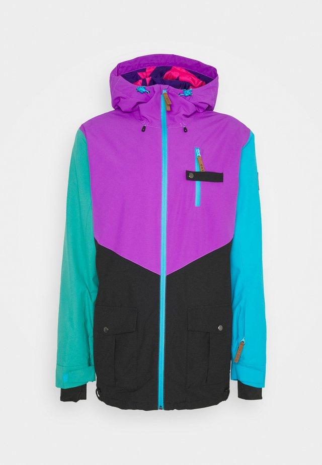 FRESH POW JACKET - Ski jas - purple/black/green/blue