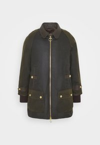 Barbour - NORWOOD WAX - Short coat - olive classic - 8