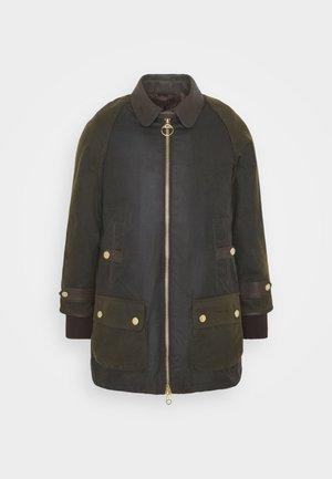 NORWOOD WAX - Short coat - olive classic