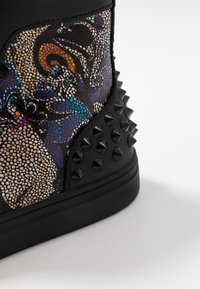 Steve Madden - CHAOS - Sneakersy wysokie - blue/multicolor - 5
