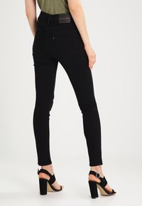 Levi's® Line 8 - LEVIS LINE 8 HIGH SKINNY - Jeansy Skinny Fit - carbon - 2