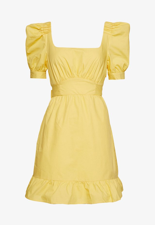 MELANIE - Robe d'été - yellow