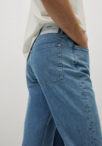 Mango - HILLARY-I - Jeans straight leg - blu medio - 4