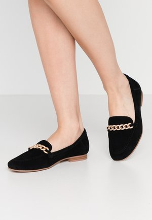 LEO TRIM LOAFER  - Instappers - black