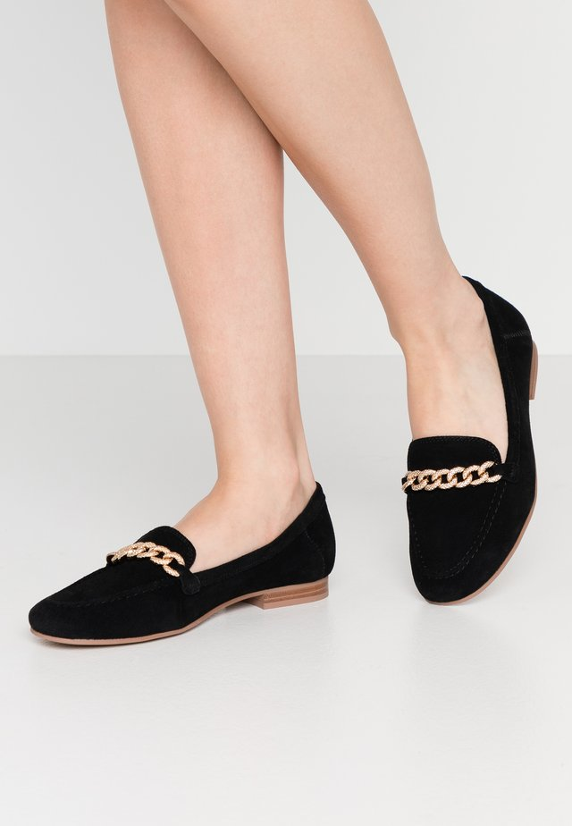 LEO TRIM LOAFER  - Mocassins - black