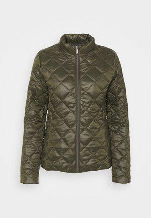 HAMELA - Winter jacket - black oliv
