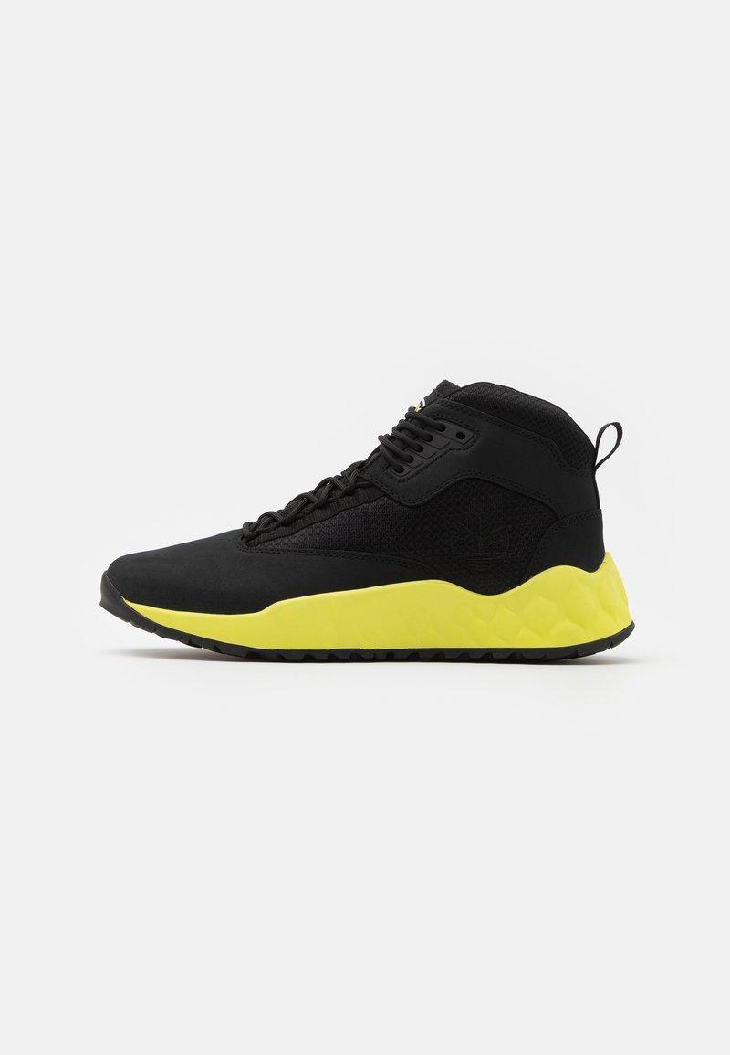 Timberland - SOLAR WAVE MID - Höga sneakers - black