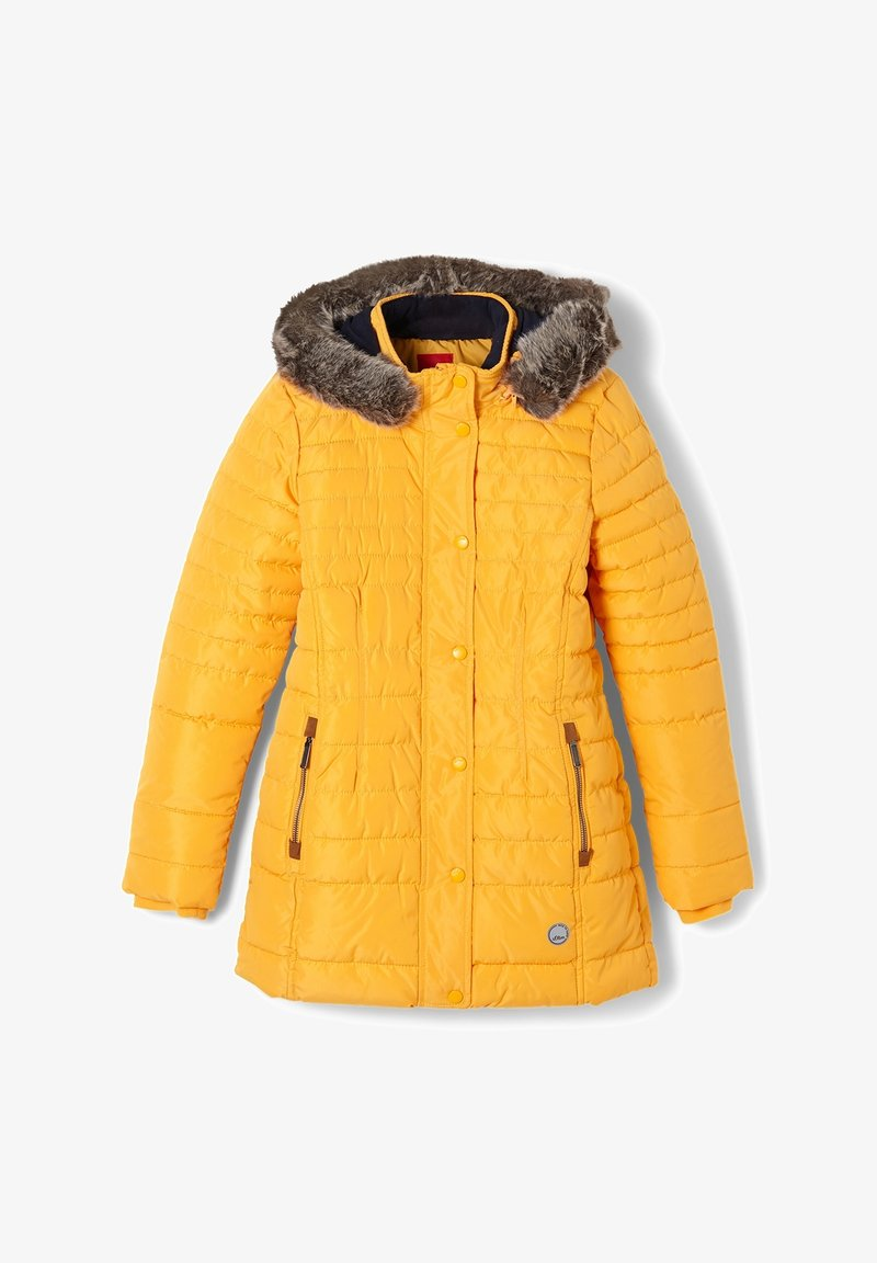 s.Oliver - Winter coat - yellow