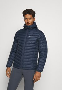 Peak Performance - FROST HOOD JACKET - Down jacket - blue shadow - 0