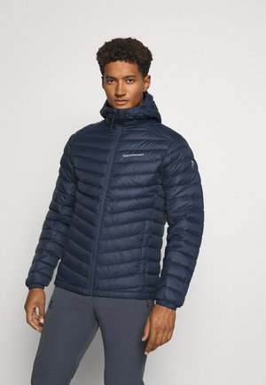 FROST HOOD JACKET - Down jacket - blue shadow
