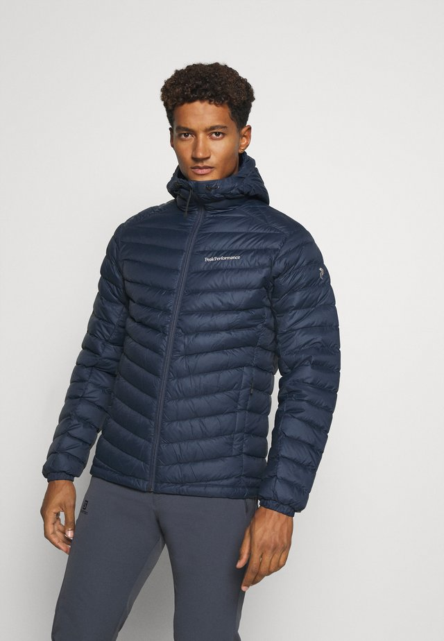 FROST HOOD JACKET - Daunenjacke - blue shadow