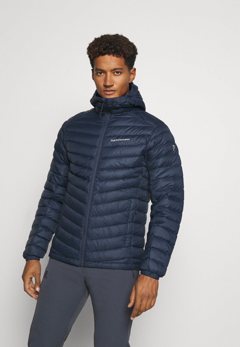 Peak Performance - FROST HOOD JACKET - Down jacket - blue shadow