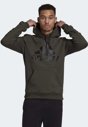 BADGE OF SPORT FLEECE HOODIE - Sweat à capuche - green