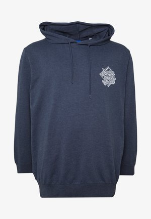 JORBRAD HOOD - Luvtröja - navy blazer