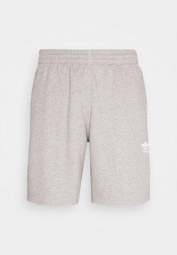 ESSENTIAL UNISEX - Shorts - mottled dark grey