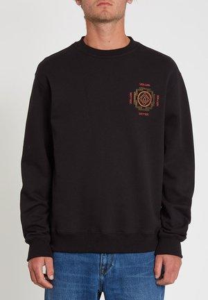 SUPPLY STONE CREW - Sweater - black