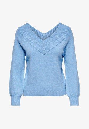Jumper - lichen blue