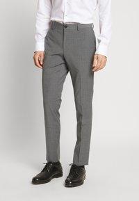 Esprit Collection - TROPICAL SUIT - Oblek - light grey - 0