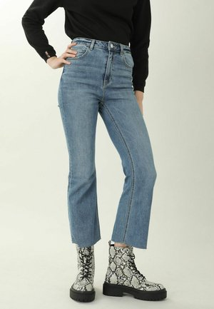 Bootcut jeans - denimblau