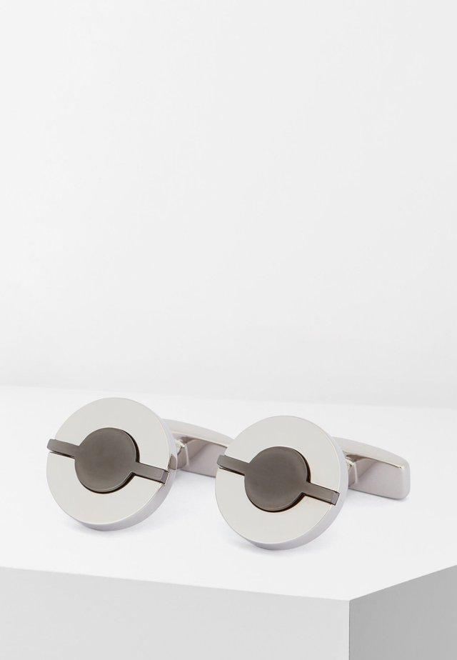 GARY - Cufflinks - silver