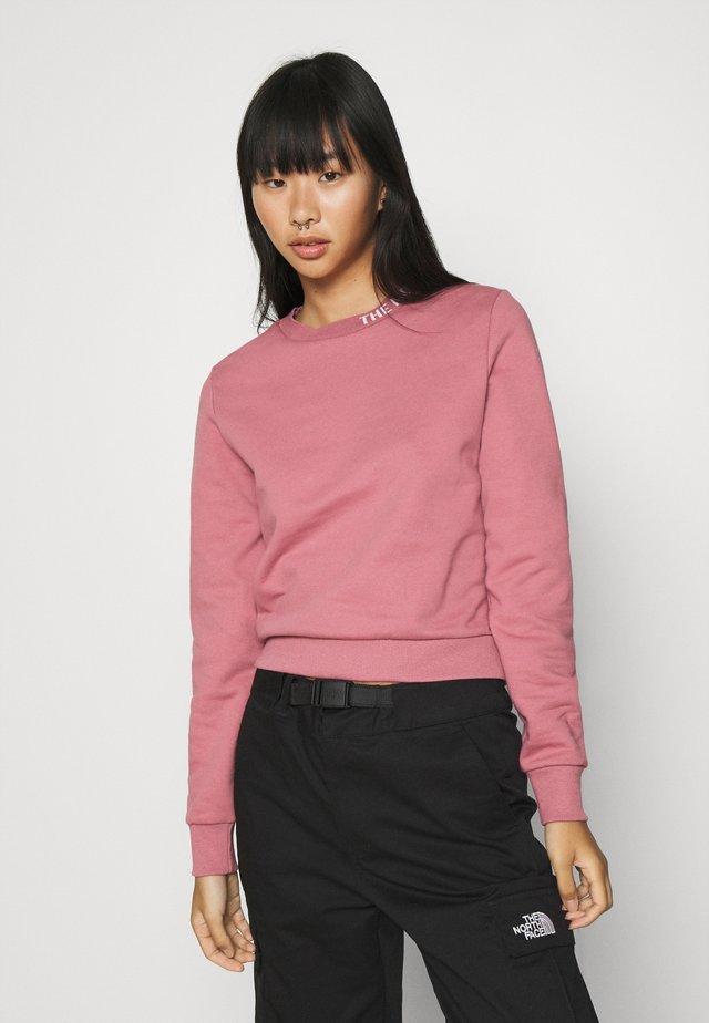 ZUMU CREW - Sweatshirt - mesa rose