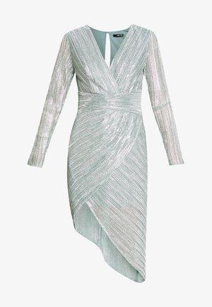 ELENA DRESS - Cocktailkjole - sage silver