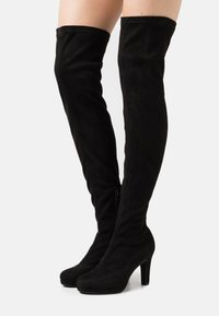 ALDO - DESSA - Over-the-knee boots - other black - 0
