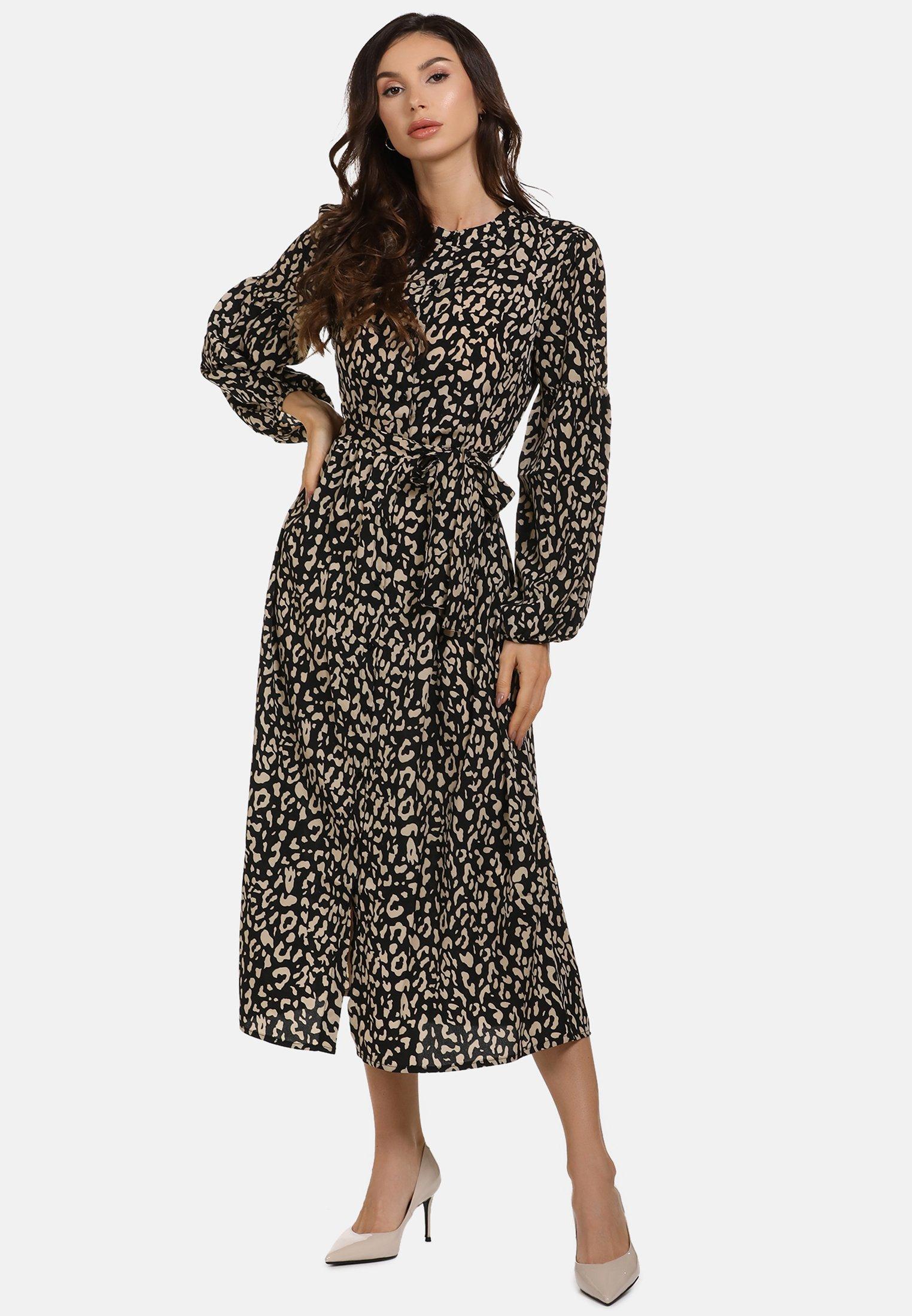 Mujer MIDI-KLEID - Vestido camisero
