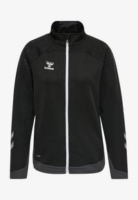 Hummel - HML LEAD  - Zip-up sweatshirt - black - 0