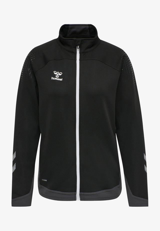 HML LEAD  - Zip-up hoodie - black