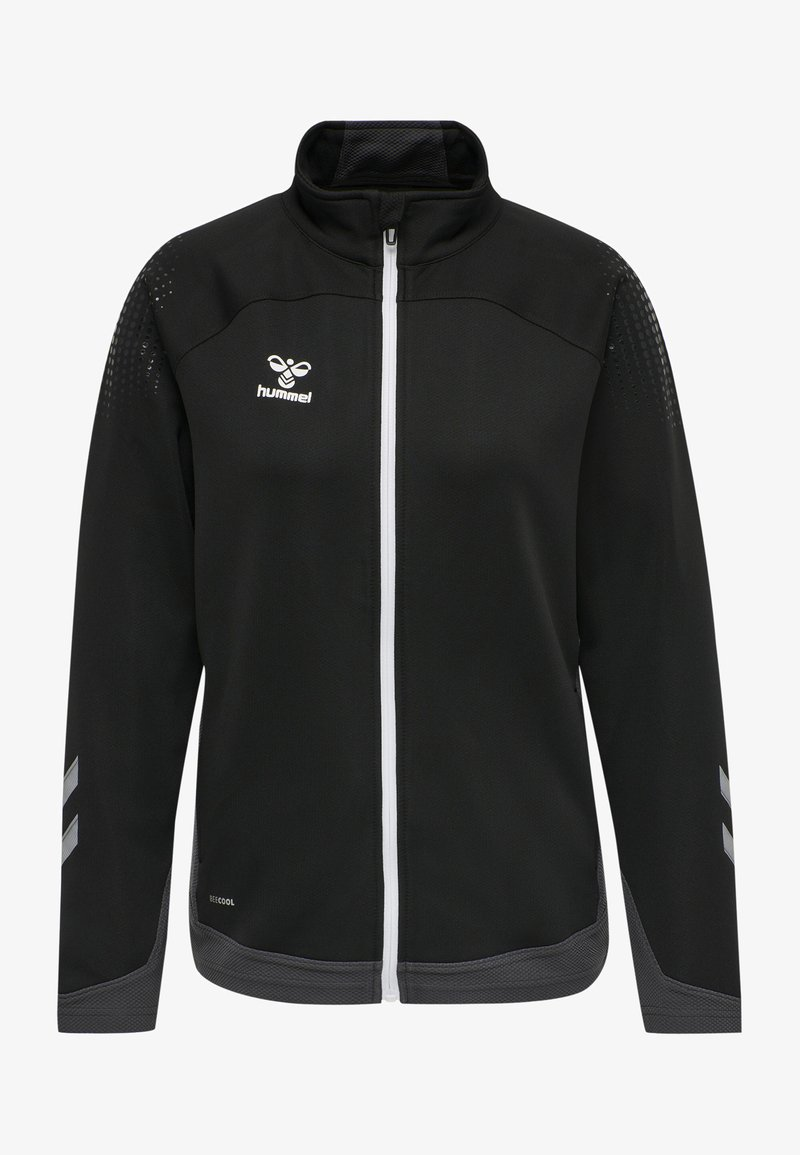 Hummel - HML LEAD  - Zip-up sweatshirt - black