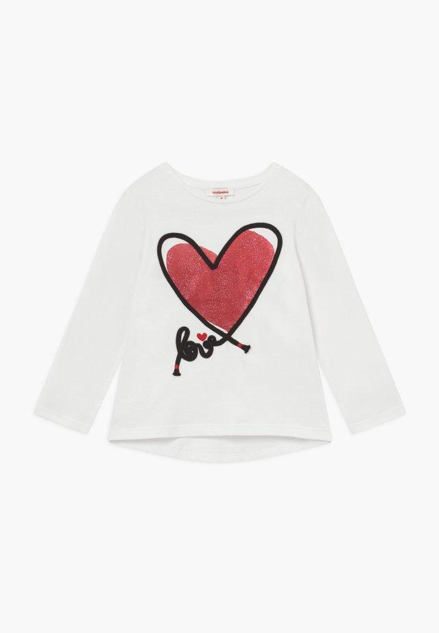 TEE  - T-shirt à manches longues - neige