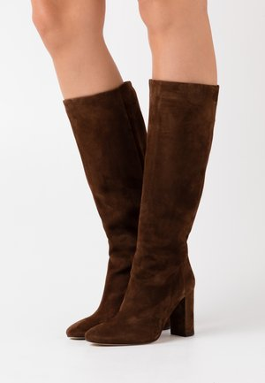 CALIME - High heeled boots - marron force