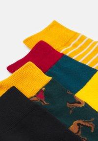 Jack & Jones - JACSTRIP LION SOCK 5 PACK - Socken - chili pepper/golden orange - 1